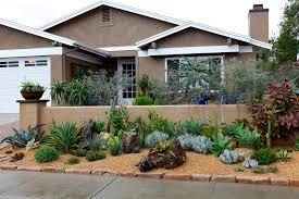 southwestern front patio ideas singing gardens san diego u0027s