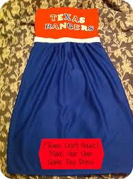 make your own game day dress texas craft house