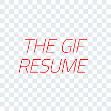 animated resume the gif resume