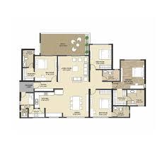 floor plan kolte patil tuscan estate at kharadi pune