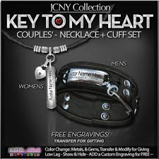 key to my heart gifts second marketplace jcny key to my heart necklace cuff