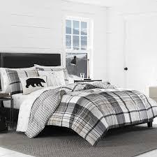 Plaid Bed Set Eddie Bauer Normandy Plaid Comforter Set Reviews Wayfair