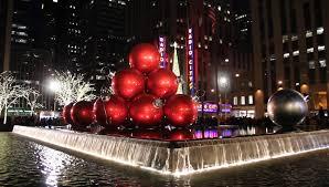 new york city tree ornaments rainforest islands ferry