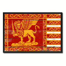 Country Vintage Home Decor by Republic Of Venice City Italy Country Vintage Flag Home Decor