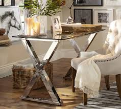 ava glass display wood desk create your dream home office with a new desk or chair during