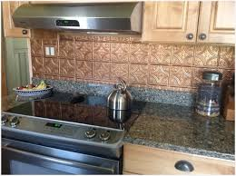 tin backsplashes for kitchens excellent plastic tin backsplash kitchen modern looks tile