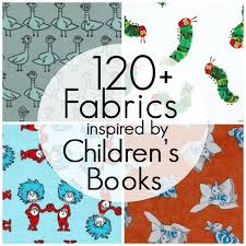 themed material pieces by polly 120 fabrics inspired by children s books
