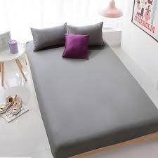 aliexpress com buy enipate grey bed sheet fitted sheet with