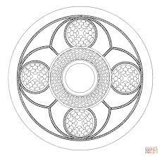 celtic mandala 6 coloring page free printable coloring pages