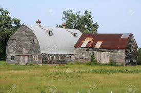 two barns central new york state stock photo picture and royalty