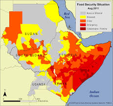 Map Of Eastern Africa by Food Security In The Horn Of Africa The Implications Of A Drier