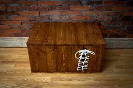 wooden chest livia xl unique house
