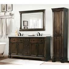 double bathroom vanity with makeup area style guru fashion