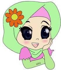 freebies doodle muslimah bunga hati freebies doodle conteng sendiri doodle