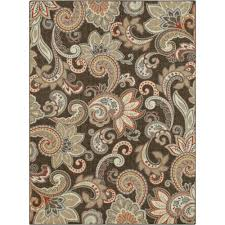 Paisley Area Rugs Better Homes And Gardens Paisley Berber Printed Area Rug Or Runner