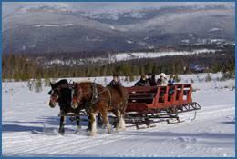 dashing thru the snow sleigh rides winter park