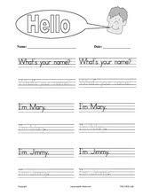 english for kids esl kids worksheets greetings hello asking name