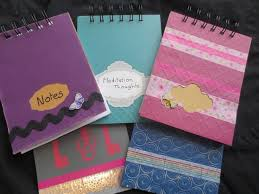 Notebook Cover Decoration 25 Unique Decorated Notebooks Ideas On Pinterest Diy Beauty