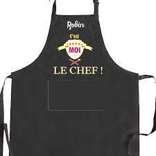 tablier cuisine homme personnalisé tablier de cuisine homme personnalisé c est moi le chef noir