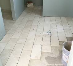 Grout Bathroom Floor Tile - grout mistakes and installed bathroom tile domestic imperfection