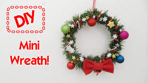 diy mini wreath youtube