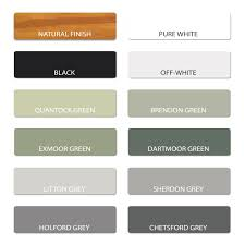 colour chart u0026 paint information
