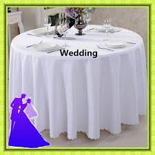 table linen wholesale suppliers aliexpress com buy big size polyester white round table cloth