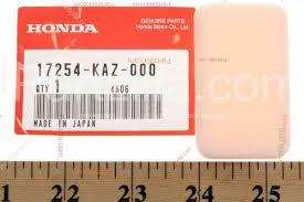 honda shadow service manual vt750c2f 17254 kaz 000 filter sub a clnr 1 93