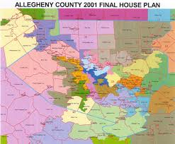 County Map Pennsylvania by District Maps Legislative Redistricting