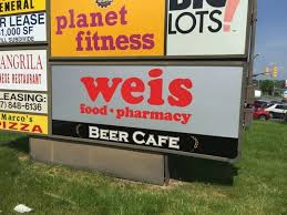 weis markets cafe opens on white