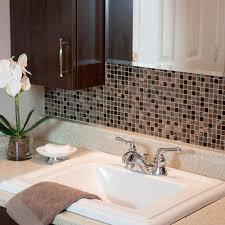 tile backsplash adhesive mat smart tiles minimo roca 11 55 in w 9 64 in h peel and stick