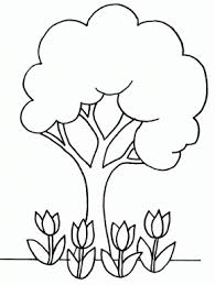 apple tree coloring page printable apple tree coloring page coloringpagebook com