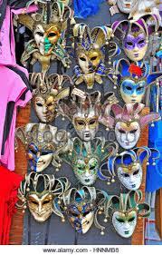 carnival masks for sale venetian carnival masks on souvenir stock photos venetian