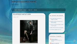 templates blogger profissional template elegance marine mundo blogger