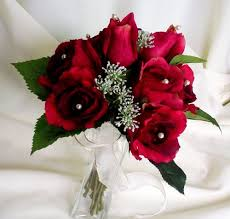 silk roses bouquet silk roses ready to ship amorebride on artfire