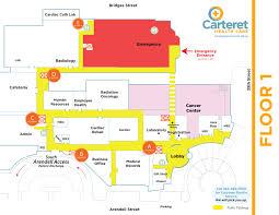 Health Map Carteret Health Care U003e Campus Map