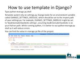 templates in django material training available at baabtra