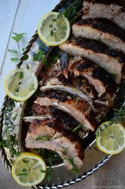 Mediterranean Style Food - mediterranean style back ribs living the gourmet