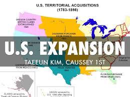 Westward Expansion Map U S Westward Expansion By Taeeun Kim