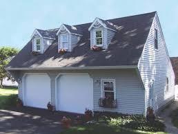 36 u0027 x 28 u0027 x 8 u0027 2 car cape cod garage at menards garage house