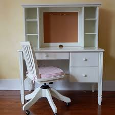 pottery barn desk with hutch pottery barn kids white desk hutch and chair ebth