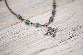 gemstone jewelry necklace images Prasada jewelry four directions shaman healing necklace jpg
