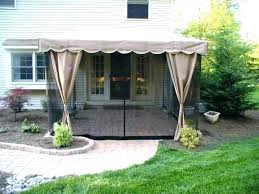 Backyard Canopy Ideas Deck Awning Ideas Back Deck Awning Ideas Controverse Me