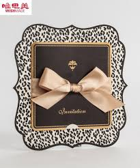 Exclusive Wedding Invitation Cards Aliexpress Com Buy Leopard Print Wedding Invitations Card 2015