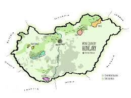 Rose Hills Map An Introduction To Hungarian Wine Wine Folly