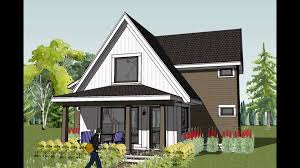 small cottage house plans youtube