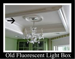Kitchen Fluorescent Lighting by When Remove Recessed Fluorescent Light Box How To Fix Keep The