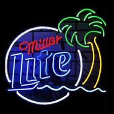 texas tech neon light miller lite neon sign ebay