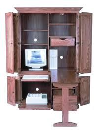 Computer Desk Armoire Amish 51 Computer Armoire