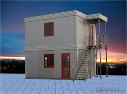 buy two storey factory made and installed container modular house